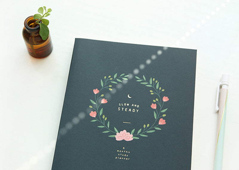 Slow and Steady 6 Months Planner L