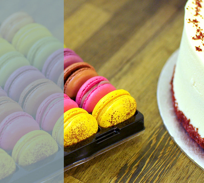 Macaroons & Birthday Cake in London