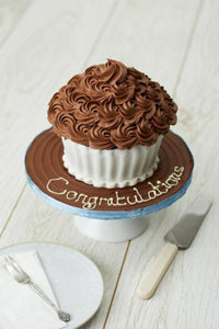 Giant Chocolate Fudge Cupcake