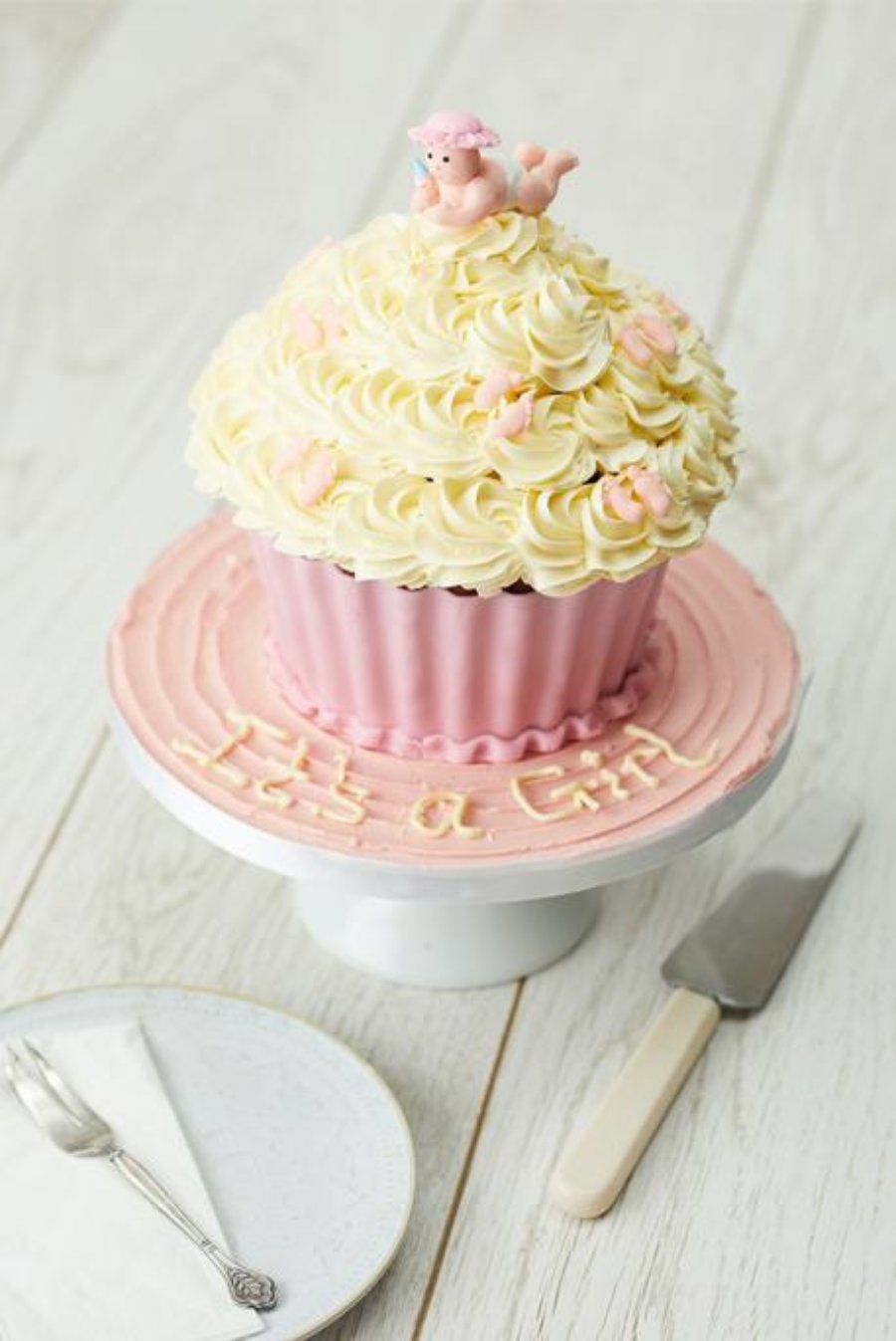 It's A Girl! - Giant Cupcake