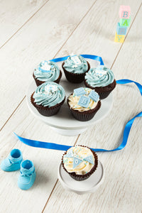 It's a Boy Assorted Cupcake Box