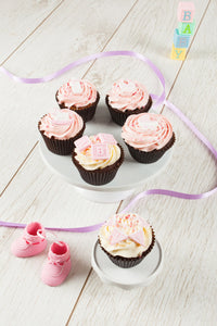 It's A Girl Assorted Cupcake Box