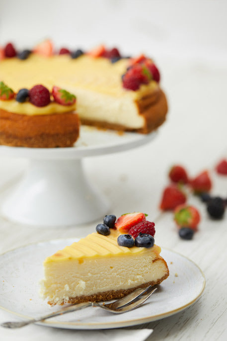 Lemon Berry Berry Cheesecake