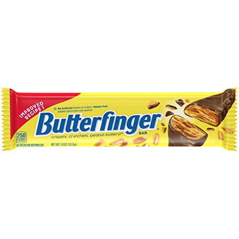 Butter Finger Bar