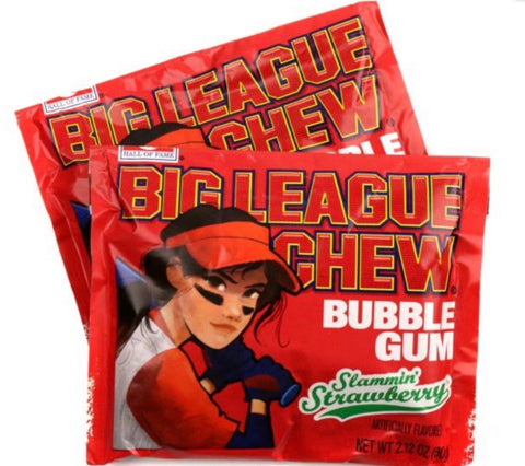Big League Chew Strawberry