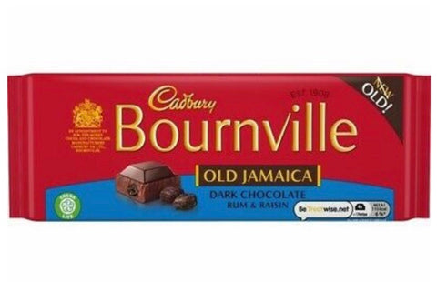 Cadbury Bournville Old Jamaica Dark Chocolate 100g