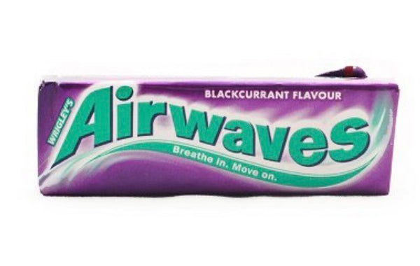 Airwaves Blackcurrant Sugar Frre Chewing Gum