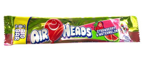 Air Heads Big Bar Strawberry & Watermelon