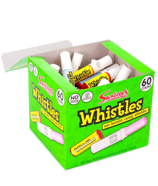 Whistles candy