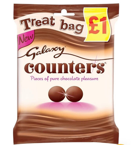Galaxy Counters Chocolate 78g