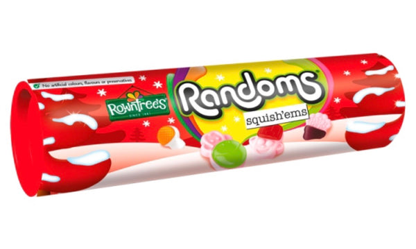 Rowntrees Randoms  Squish'ems Giant Tube 100g