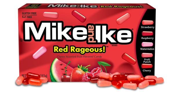 Mike & Ike Red Rageous