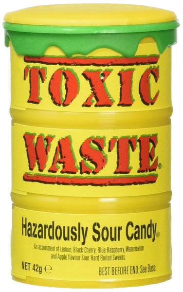 Toxic Waste Sour Candy