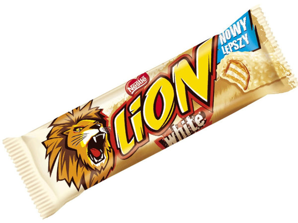 Lion Bar White