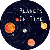 Planets in time logo