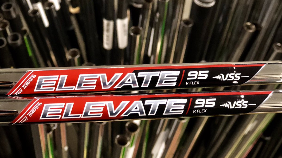 "True Temper Elevate 95 Iron Set (4-pw) .370"" Parallel"