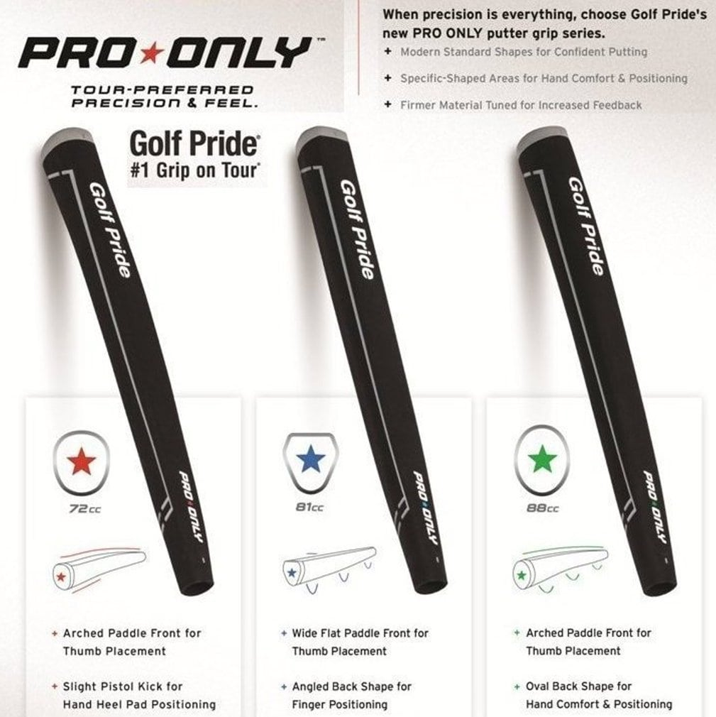 Golf Pride Tour Only Green Star 88cc