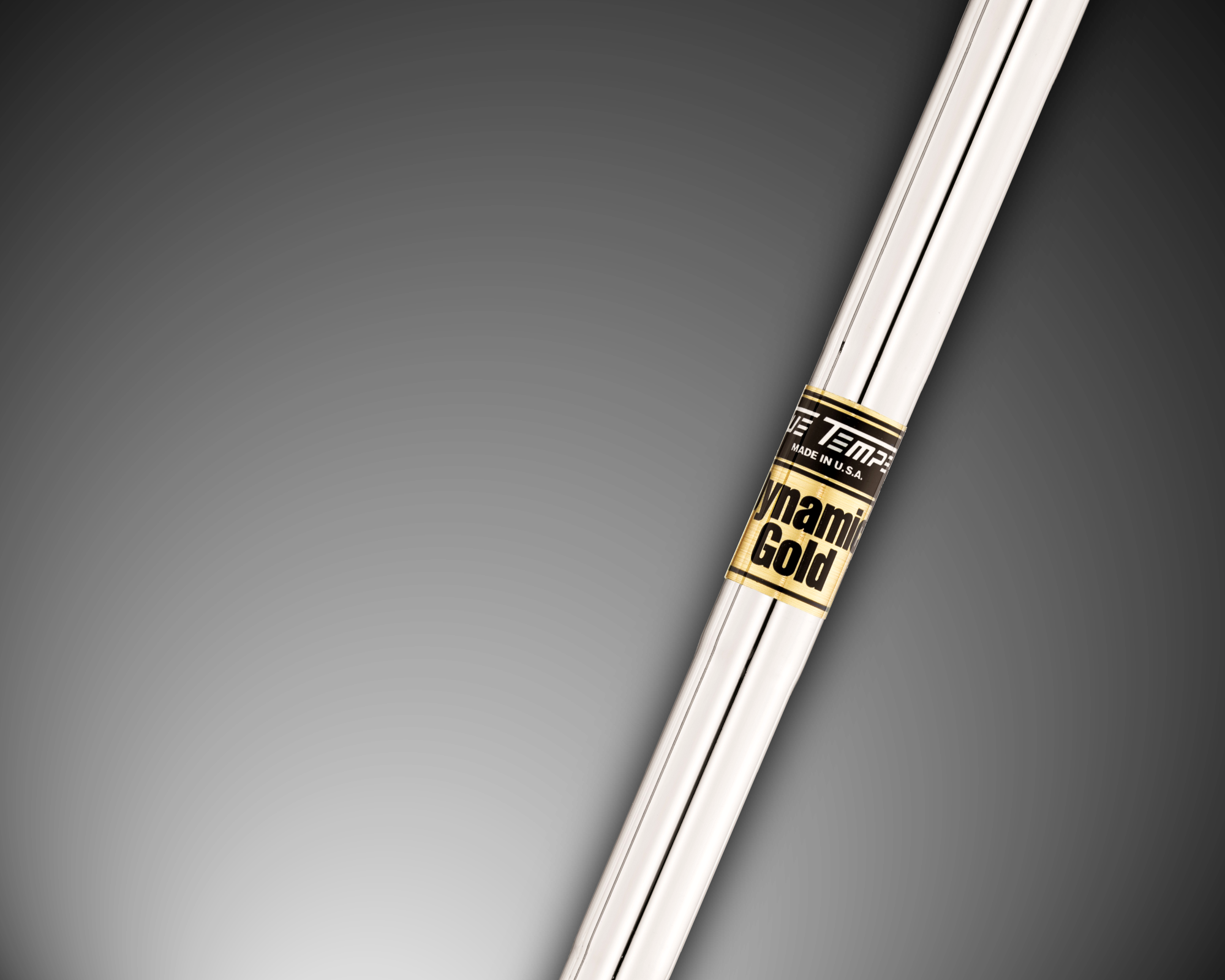 "Dynamic Gold Iron Shaft .355"" Taper"
