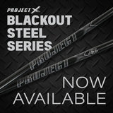 "Project X Blackout Iron Shaft .355"" Taper"