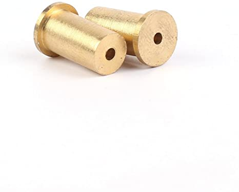 "Brass tip weights .355"" Taper"