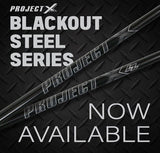 "Project X LZ Blackout Steel Iron Set (4-PW) .355"" Taper"