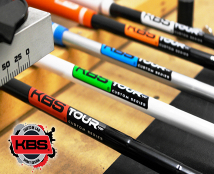 "KBS Tour Custom Pearl Black Wedge Shaft .355"" Taper White Label"