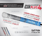 Golf Pride Multi Compound Plus4 Standard 60 Round Blue Midsize