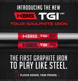 KBS TGI Tour Graphite Iron 60 .370""