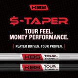 KBS Tour $-Taper Iron Shaft Chrome .355""