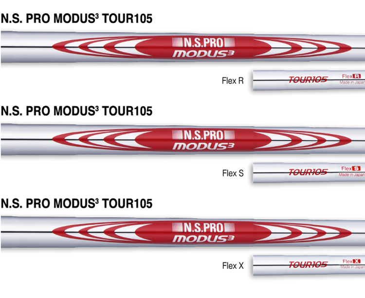 Nippon NS PRO MODUS 3 TOUR 105 Iron Shaft .355""
