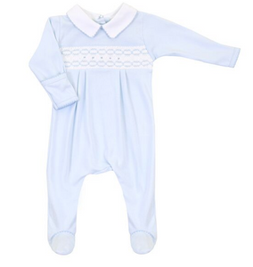 Cole Classic Smocked Footie