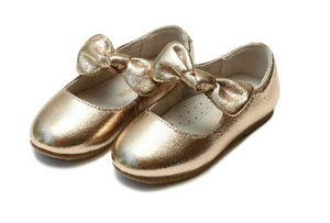 Celia Knotted Bow Flat