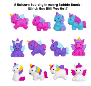 Unicorn Squishy Surprise Bubble Bath