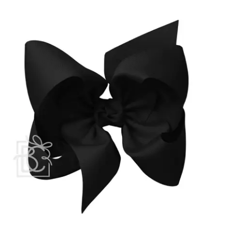 Large Grosgrain Bow with Alligator Clip 5.5