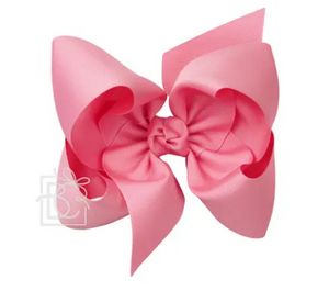 Large Grosgrain Bow with Alligator Clip 5.5""