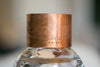 Large Copper BRANDED Cuff