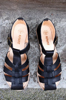 Kavat eco sandal black