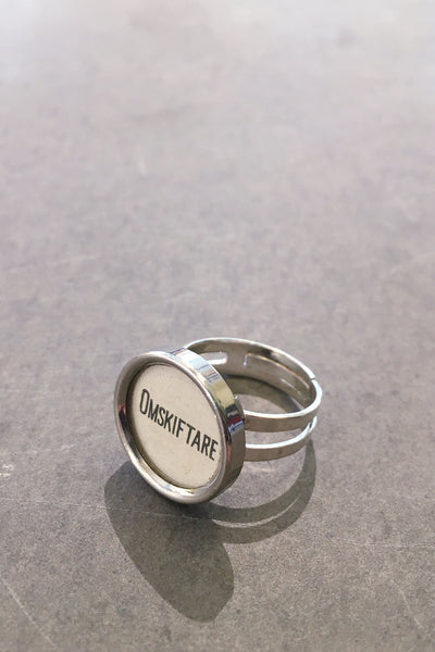 "Saved and remade ring ""Omskiftare"""
