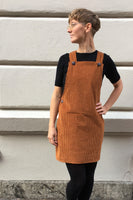 Kubik dungaree dress