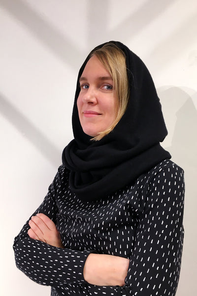 Kubik Hooded scarf