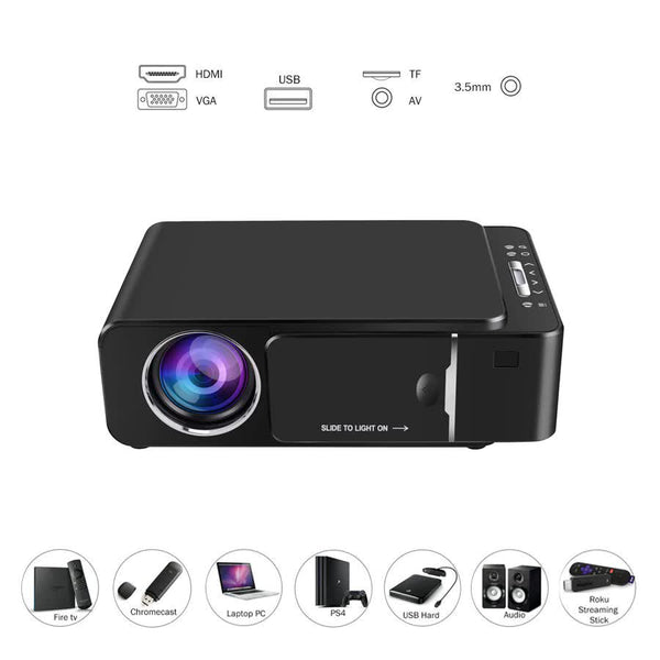 Portable HD Projector with WiFi