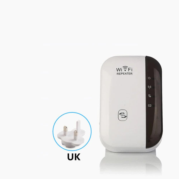 WiFi Signal Range Booster 300Mbps Wi-Fi Amplifier Wireless Network Extender