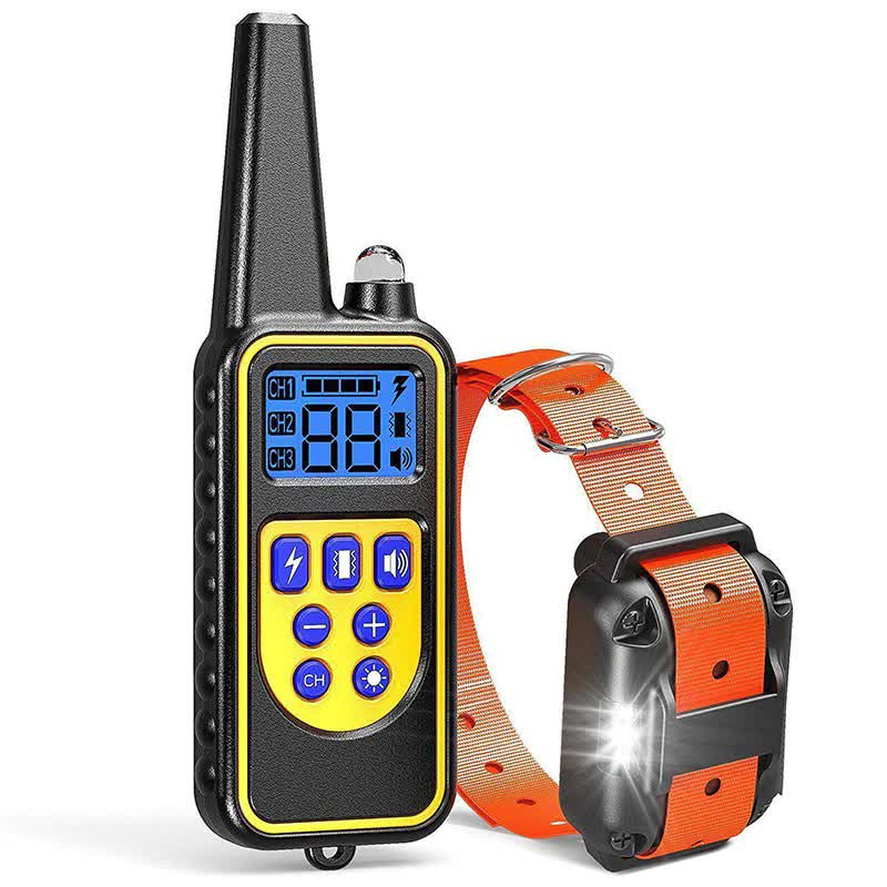 Waterproof Electric Dog Training Collar - 800m