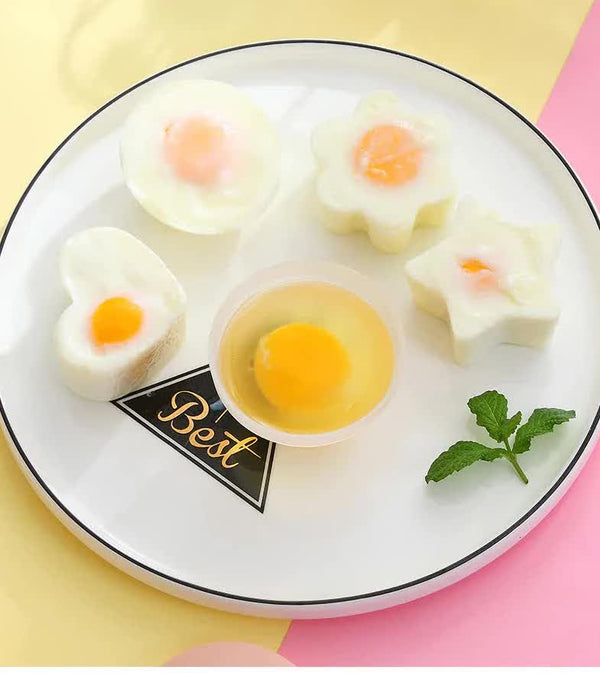Egg Poacher - 4Pieces with Brush