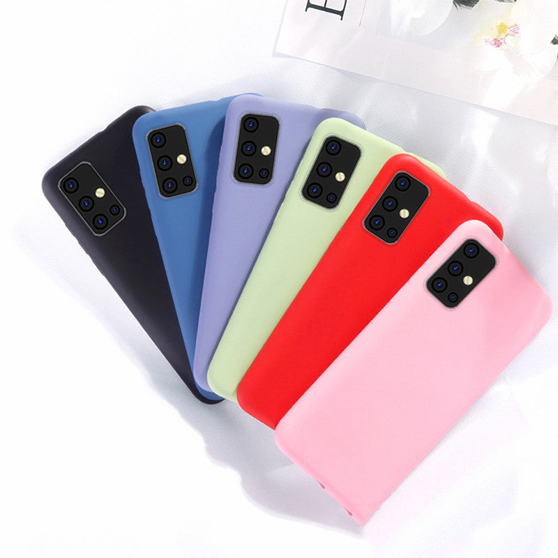 Samsung Galaxy A51 Liquid Silicone Shockproof Case Cover
