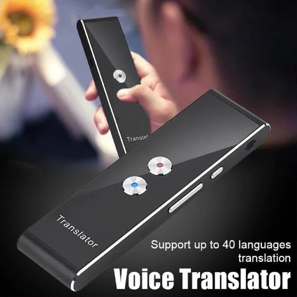 Smart Portable 40 Language Translator