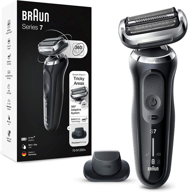 Braun Electric Shaver with Precision Beard Trimmer