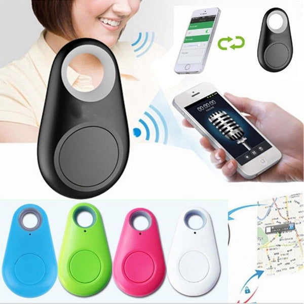 Mini Bluetooth Waterproof Anti-lost Alarm GPS Tracker Finder Device For Kids, Keys and Pets - 3 Packs