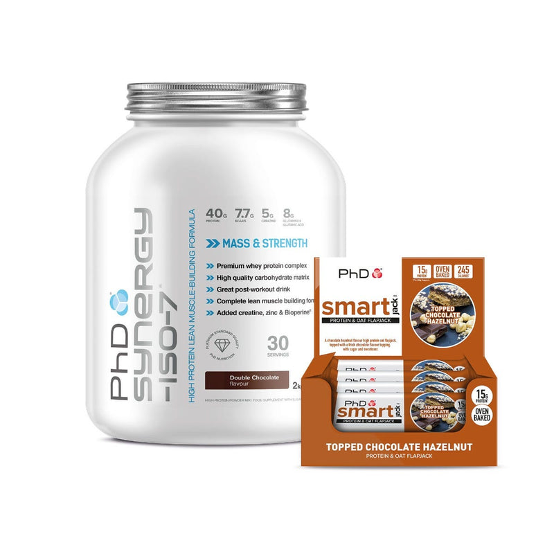 Recover Smart Bundle - All In One 2Kg Powder and 12 x 60g Smack Jack