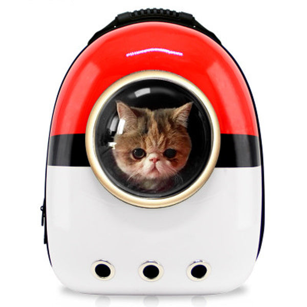 Breathable Space Capsule Astronaut Bubble Travel Bag Pet Carrier Backpack
